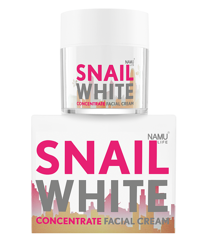 NAMU LIFE SNAILWHITE Concentrate Facial Cream