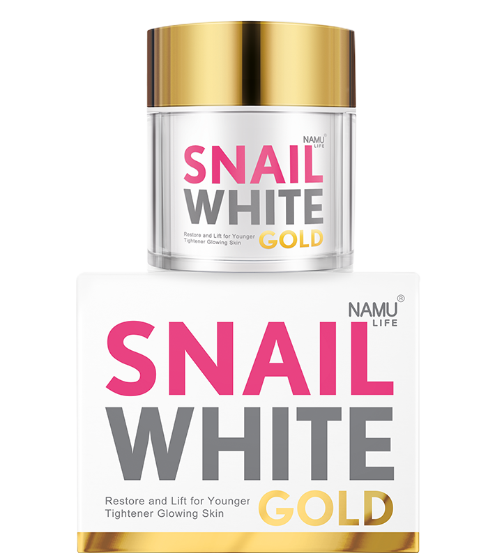 NAMU LIFE SNAILWHITE Gold Facial Cream