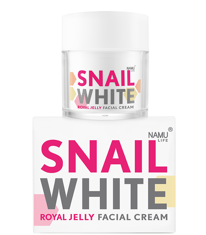 NAMU LIFE SNAILWHITE Royal Jelly Facial Cream